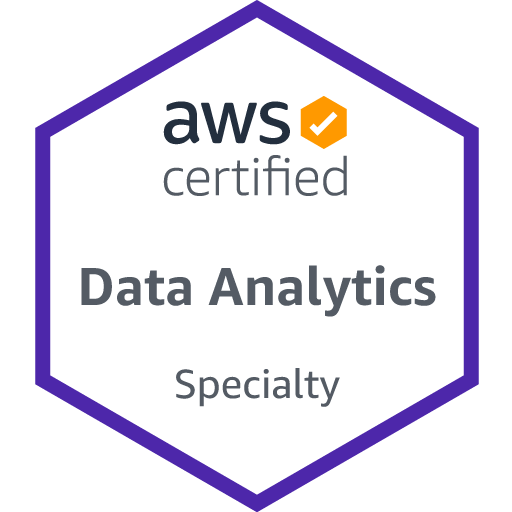 AWS Certified Data Analytics - Specialty