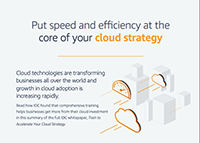Infographic: IDC Whitepaper - Cloud Strategy