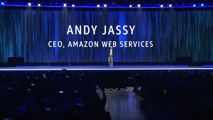 Presentazione introduttiva con Andy Jassy, CEO, Amazon Web Services