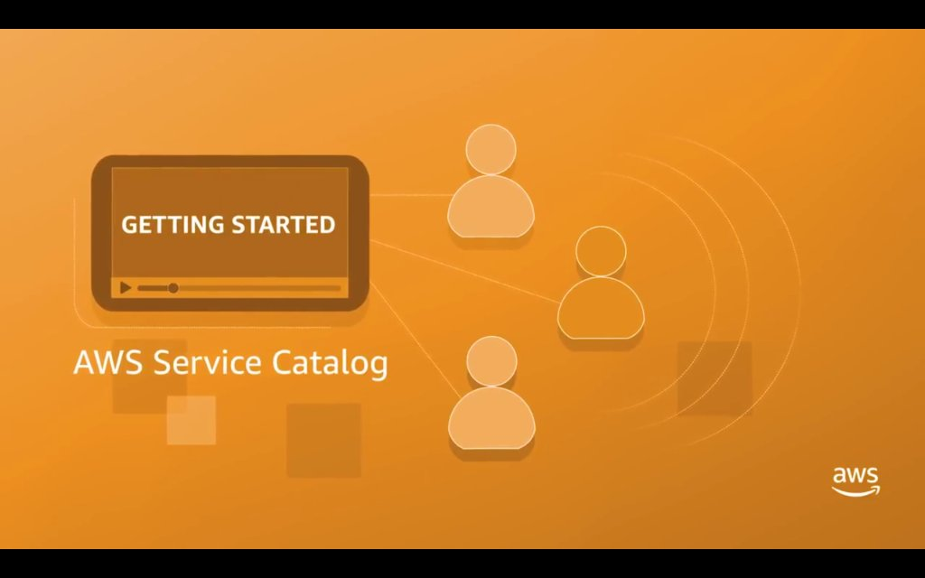 AWS Service Catalog Getting Started