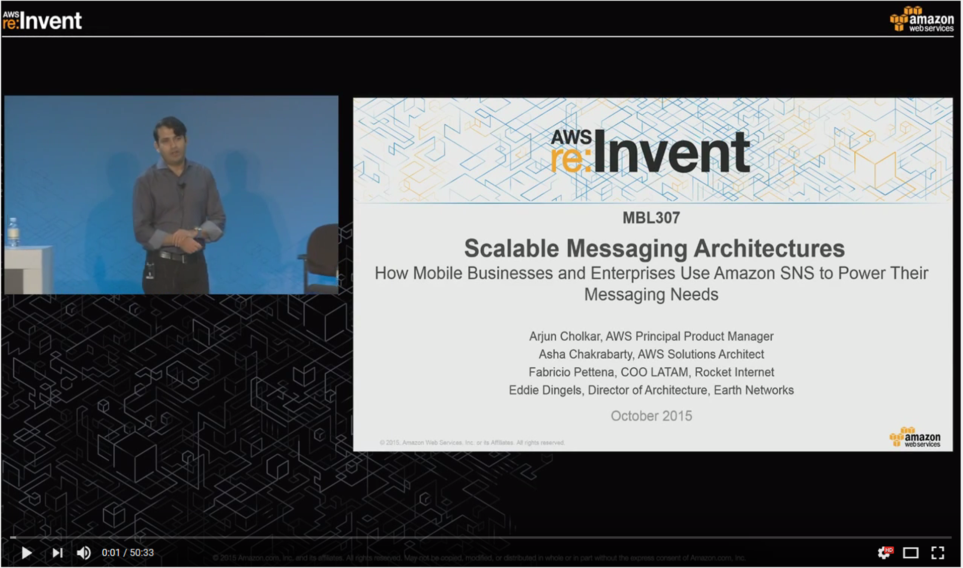 reInvent2015_MBL307_Scalable_Messaging_Architectures