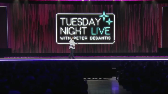 Tuesday Night Live con Peter DeSantis, VP, Infrastruttura globale di AWS