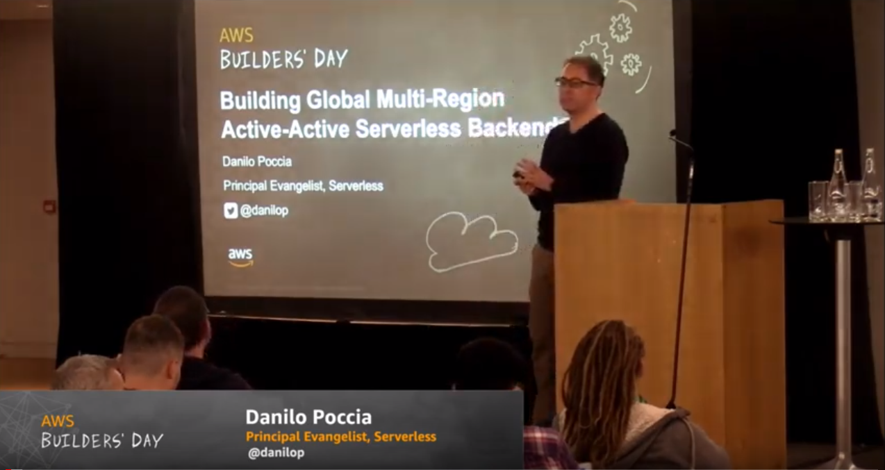 building global multi-region activeactive serverless