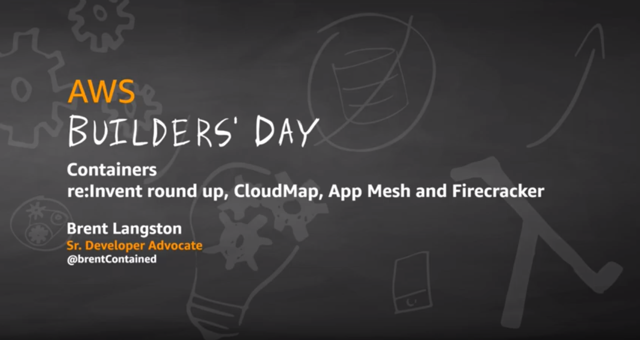 containers reinvent round up cloudmap app mesh firecracker