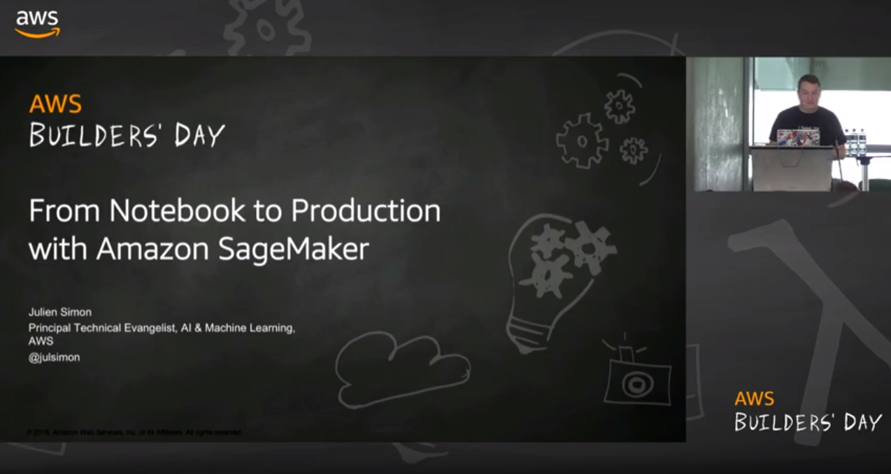 notebook to production with amazon sagemaker