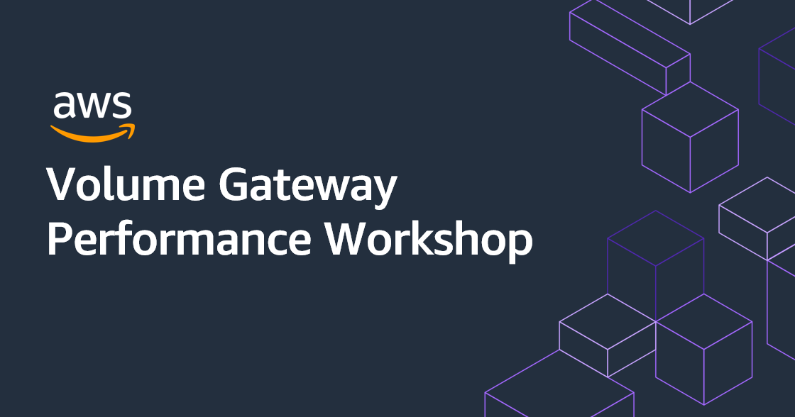 volume-gateway-performance-workshop