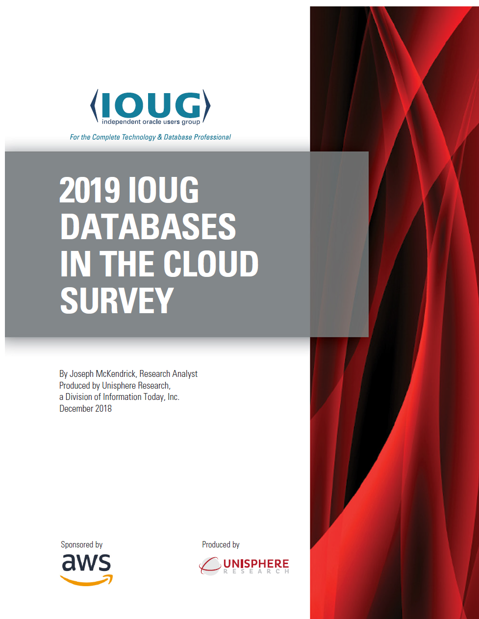 IOUG Cloud Database Survey