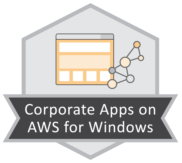 Corporate Apps on AWS for Windows
