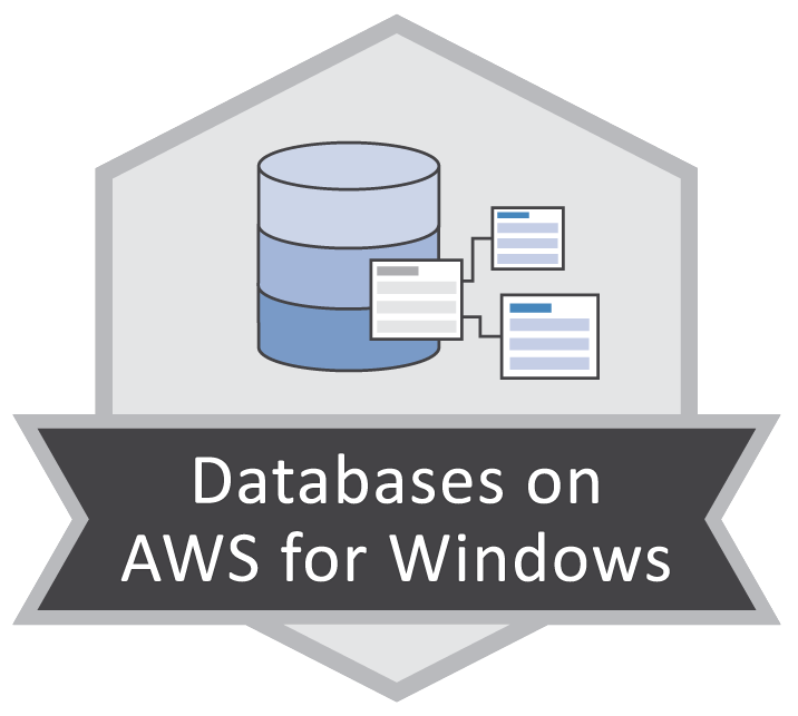 Databases on AWS for Windows