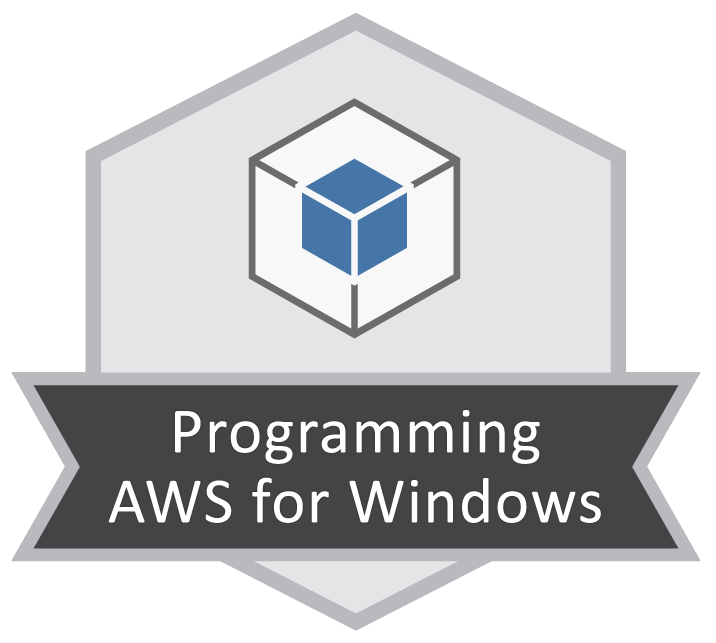 Programming AWS for Windows