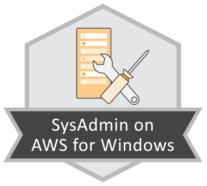 SysAdmin on AWS for Windows
